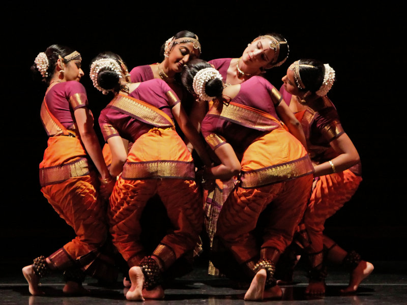The Natya Dance Theatre of Chicago performed at the Peck Pavilion Tuesday night.