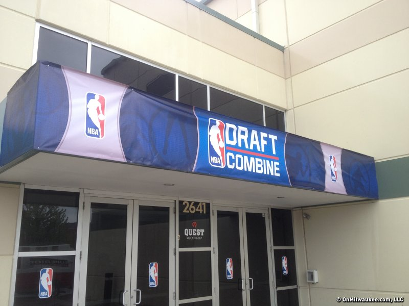 The annual NBA Draft Combine was held on Chicago's west side at Quest Multisport.