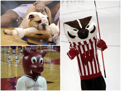 Predicting the perfect March Madness first round (using mascots)