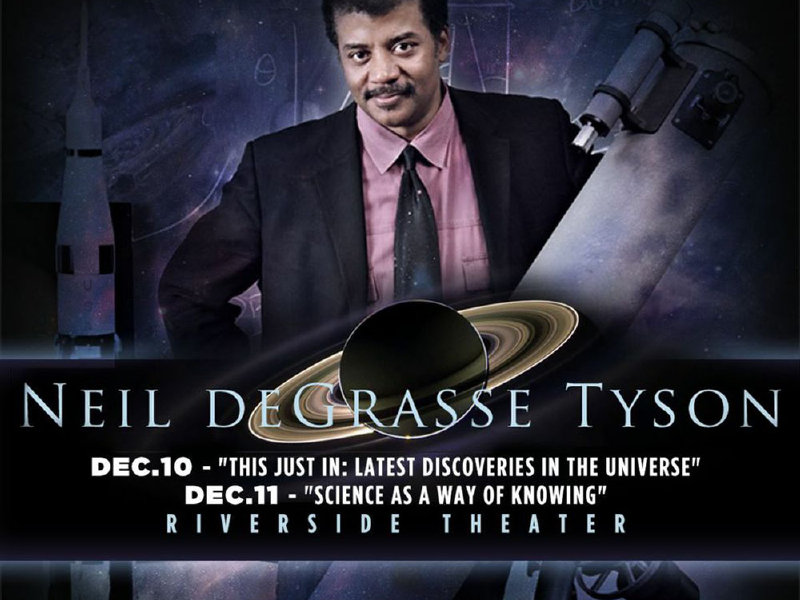 Astrophysicist Neil deGrasse Tyson brings universe to the Riverside Image