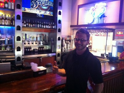 Featured bartender: Neil Jamin of Friday's Front Row at Miller Park