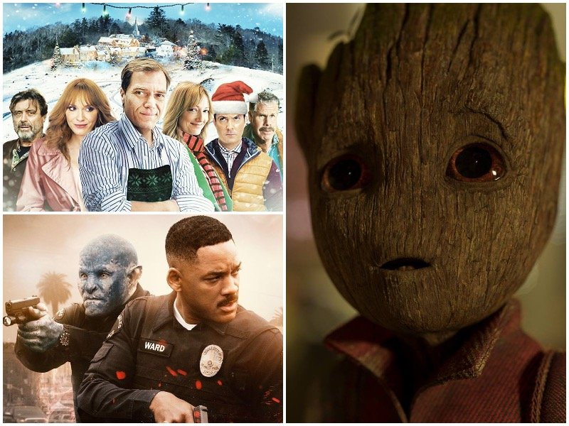 Orc cops, Groot and a Christmas Bigfoot are en route for December on Netflix .