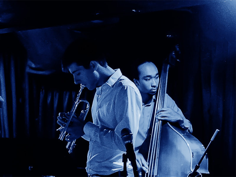 Trumpeter Sam Neufeld and bassist Devin Starks are half of Milwaukee native Neufeld's jazz quartet.
