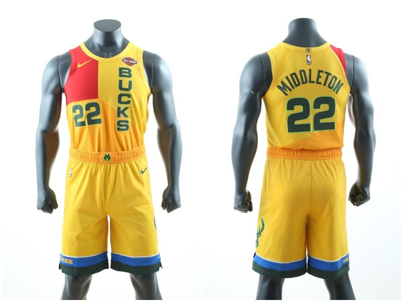 ca23a7cf0 Here s when you ll see (or avert your eyes from) the new Bucks jerseys in  action - OnMilwaukee