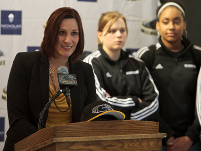 New women's coach named