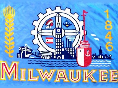 The Milwaukee flag Image