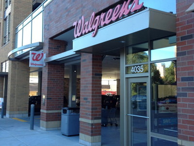Inside a new Walgreen's Image