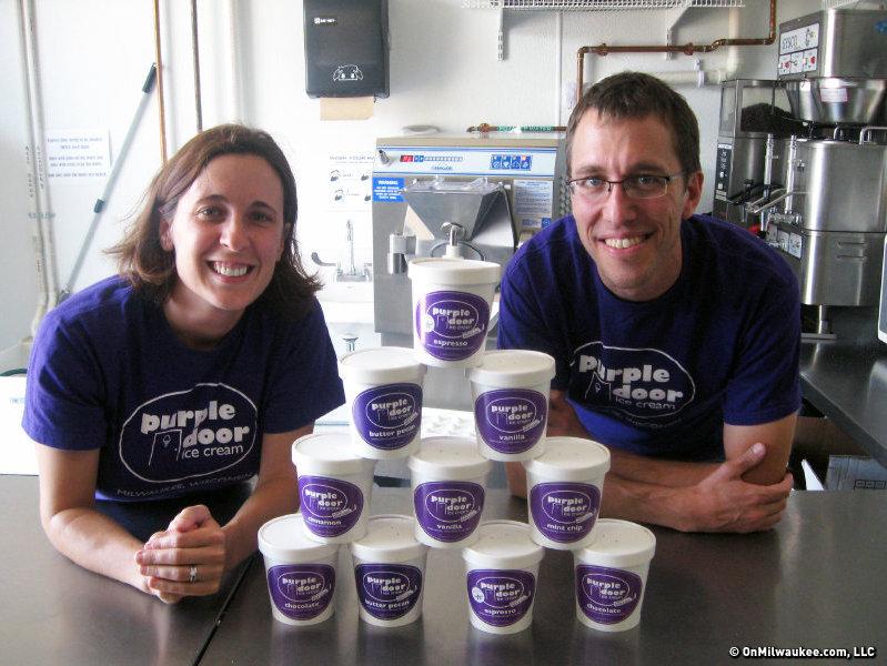 the weekly nibble big move for purple door ice cream