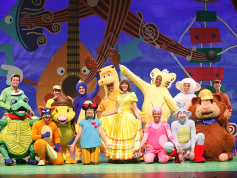 "The tour brings characters from four popular Nick shows -- ""Dora the Explorer,"" ""The Wonder Pets!,"" ""The Backyardigans"" and ""Ni Hao, Kai-Lan"" -- to the stage."