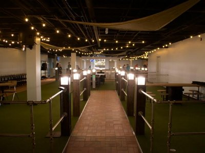First look: Nine Below Mini Golf Tavern is open