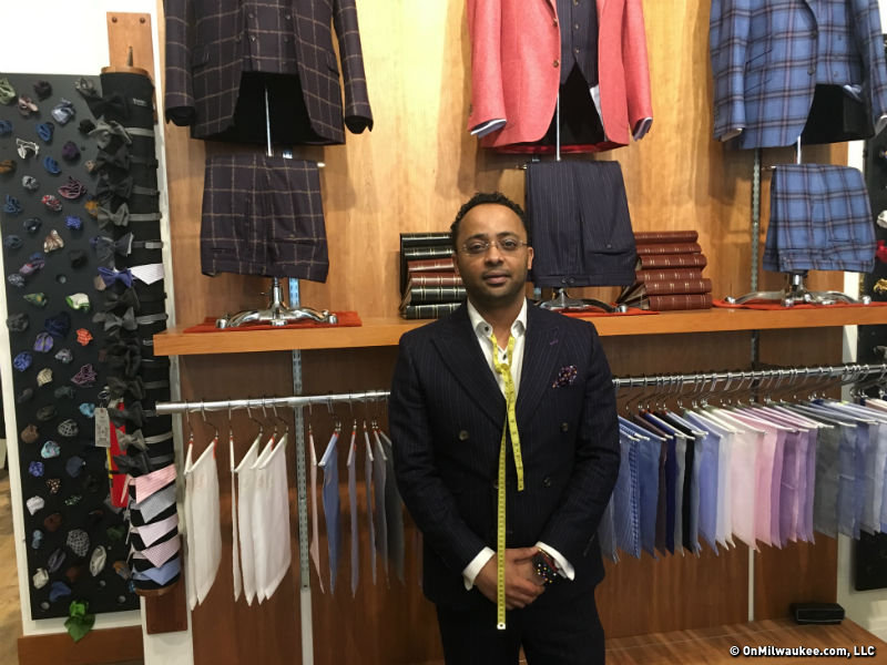 Guys: Meet Nas Laine, MKE\'s top new clothier; let him help with ...
