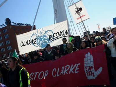 Community leader in wake of Clarke resignation: