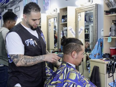 South Side barbershop owner creates one-stop shop for hip-hop community