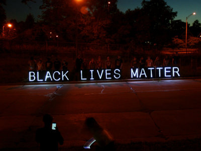 White allies show solidarity with Black Lives Matter