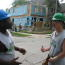 Young adults in YouthBuild help construct Habitat for Humanity houses Image