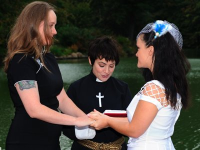 Non-traditional wedding officiants provide personalized ceremonies