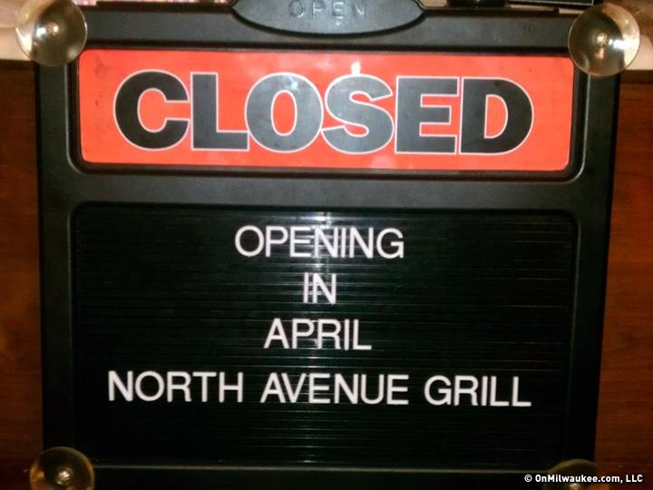 North Avenue Grill plans to open in the former Daymaker Cafe.