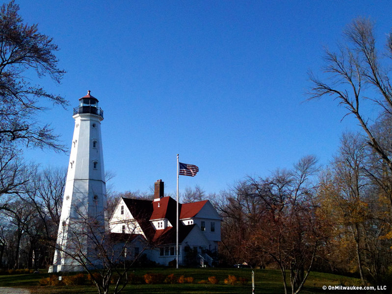 Celebrate the holidays at the North Point Lighthouse.