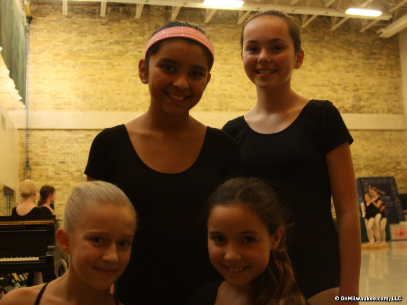 From left to right: Isabella Ybarra, Sara Mulrooney, Cassie Dondlinger and Mia Tynan.