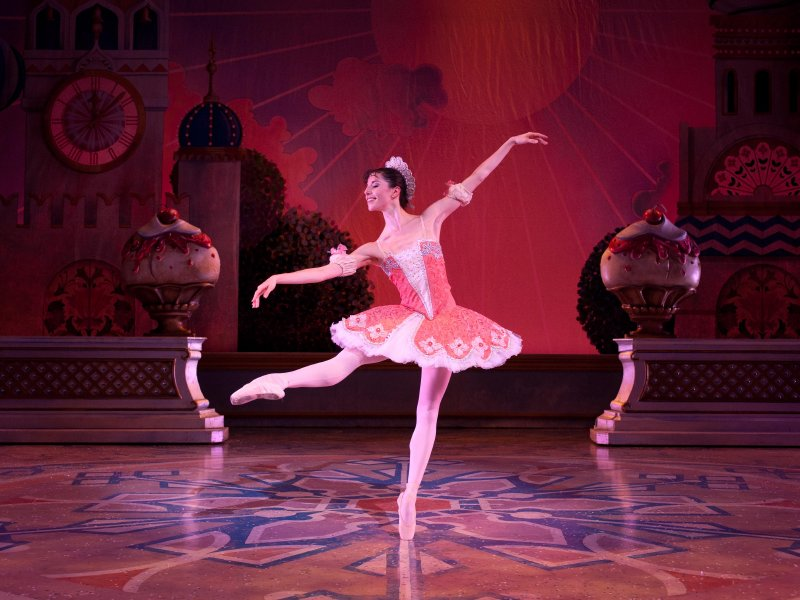 "Valerie Harmon performs the role of Clara/The Sugar Plum Fairy in Michael Pink's ""The Nutcracker,"" which runs until Dec. 26."