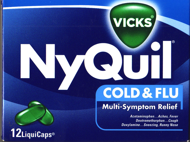 On a sleepless night, a dose of NyQuil spelled relief.