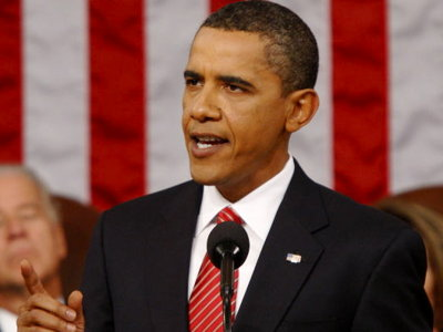 Obama's speech to Congress on health care crisis Image