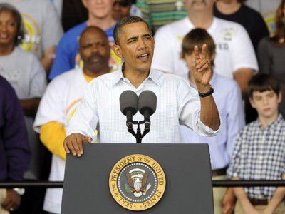 Transcript: Obama's speech at Laborfest