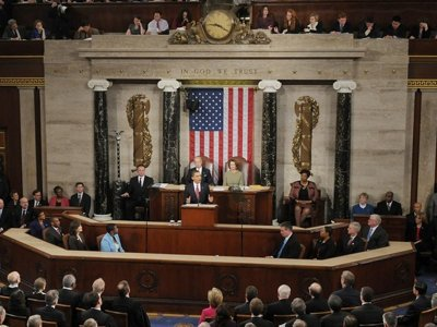 Transcript: Obama's speech to Congress Image