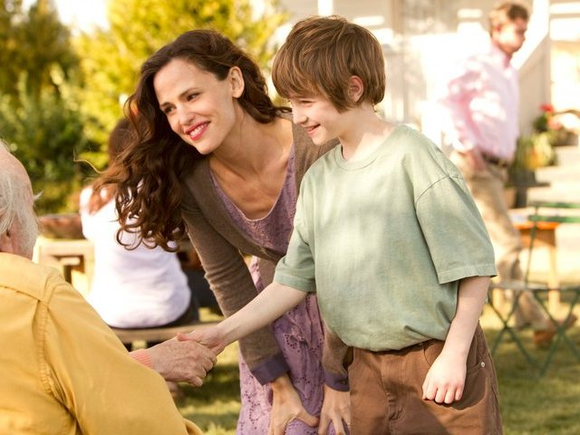 "Jennifer Garner and CJ Adams star in ""The Odd Life of Timothy Green,"" in theaters now."