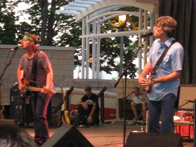 Rhett Miller (left) and Murry Hammond of the Old 97's.