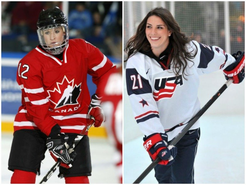 There are 10 Wisconsin players in tonight's USA-Canada gold medal game