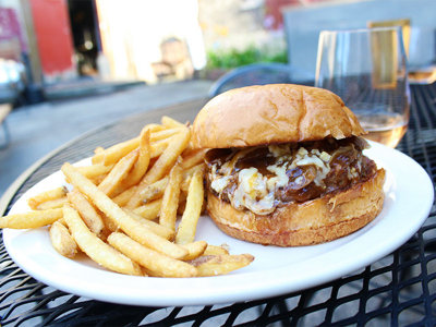 On the Burger Trail: Company Burger at Company Brewing