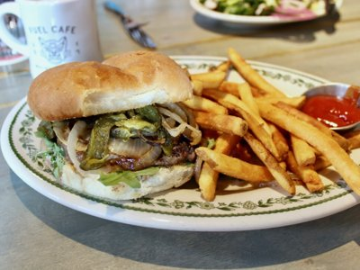 On the Burger Trail: The Kitchen Favorite at Fuel Cafe on 5th