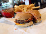 On the burger trail: The double cheeseburger at Kroll's East Image
