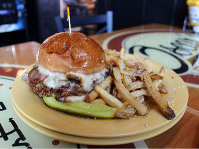 On the Burger Trail: The Big O at Oscar's Pub & Grill Image