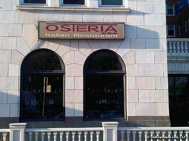 Osteria del Mondo will close its Juneau Avenue location after a big fireworks party Sunday night.