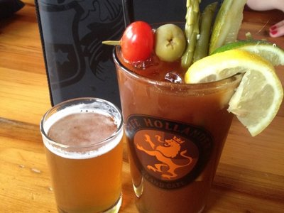 Out for bloodies: Cafe Hollander