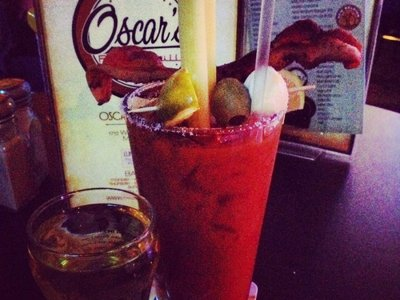 Out for bloodies: Oscar's on Pierce