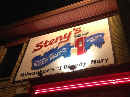 Does Steny's have one of the best bloodies in town?