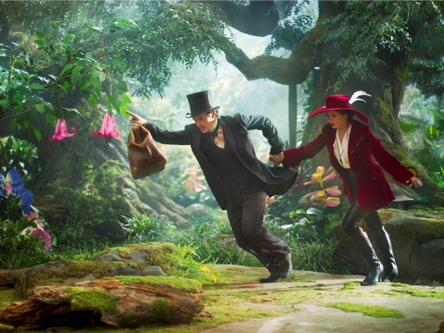 "James Franco and Mila Kunis star in ""Oz The Great and Powerful."""