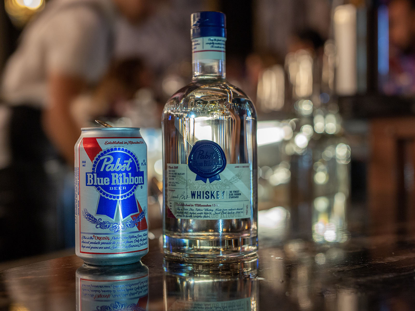 Getting A Taste Of Pabsts Blue Ribbon White Whiskey