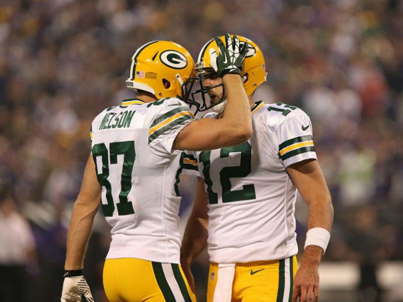 best cheap 3e050 452ea Read Aaron Rodgers' ode to released receiver and close ...