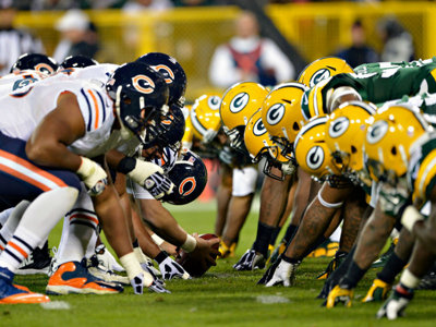 You can stream Thursday's Packers-Bears game on Amazon; or just watch it on TV