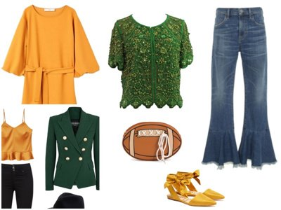 Green, gold and glam: 4 perfect looks for Packers season