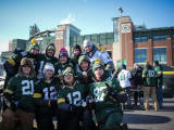 Packers' playoff win over Giants set Lambeau Field record for mobile data usage Image