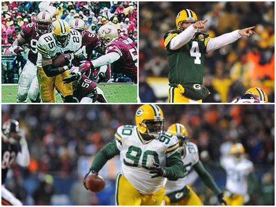 What was big when the Packers made the NFC Championship Games before?