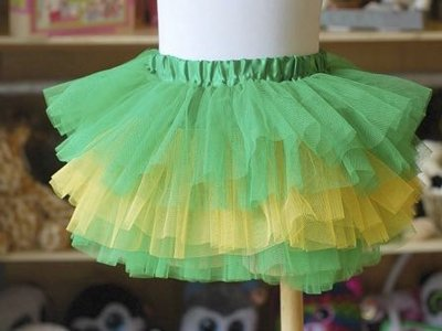 Perfect Packers tutus fit tiny football fans