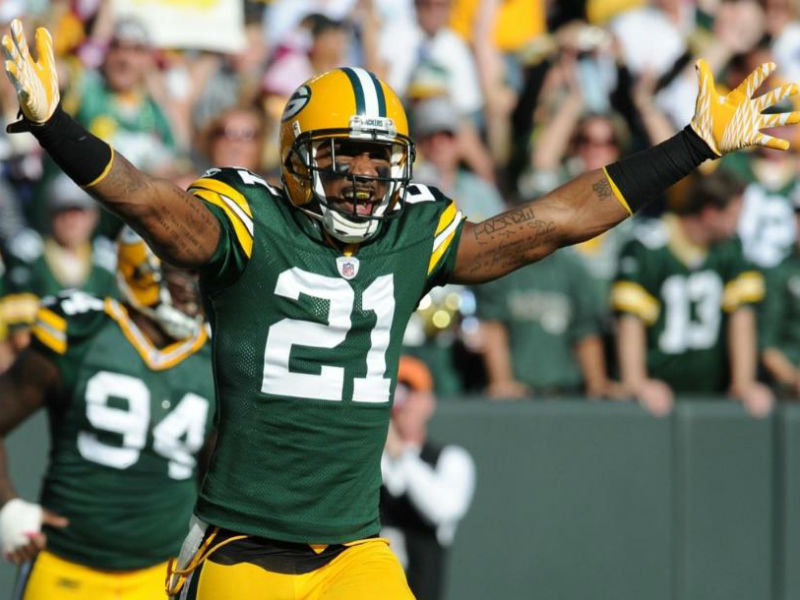 568ebbcd7 Charles Woodson holds Green Bay's franchise record for defensive touchdowns.