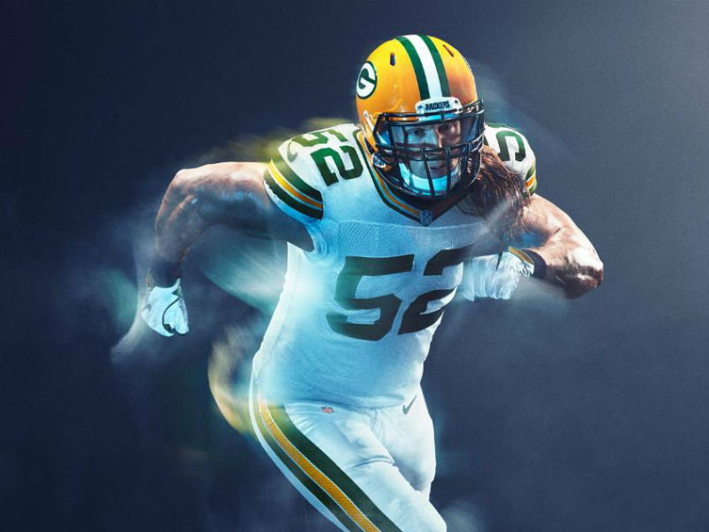 4123f366 Packers unveil Color Rush uniform, avoid all-gold nightmare ...