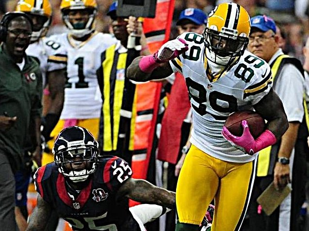 James Jones has become a go-to receiver for Aaron Rodgers.